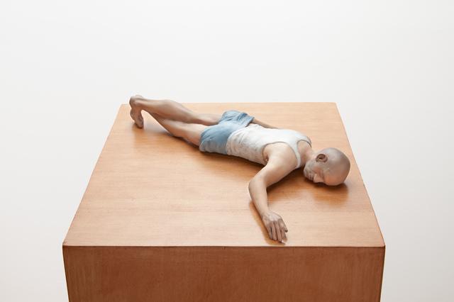 , 'New Realistic Figures (Sleeping): Michel,' 2009, Bortolami