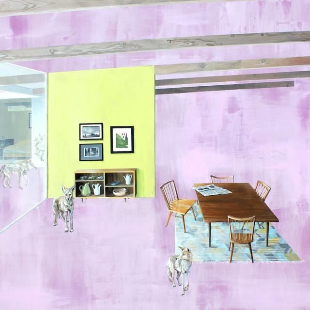 , 'Dining Room,' 2018, LAUNCH LA