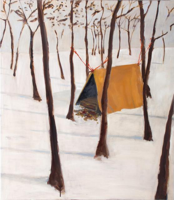 , 'Shelter,' 2018, Parafin