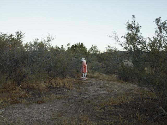 , 'Plaster man, near Boulevard, California,' 2009, Marc Selwyn Fine Art