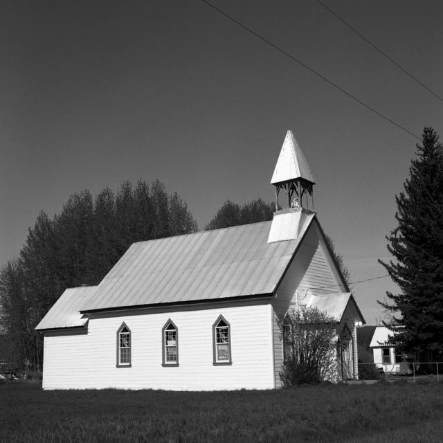 , 'Church, Fort Klamath,' 2018, Flatland Gallery