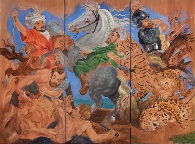 , 'La caza del tigre, el leopardo y el león, Rubens 1616,' 2013, MAMAN Fine Art Gallery