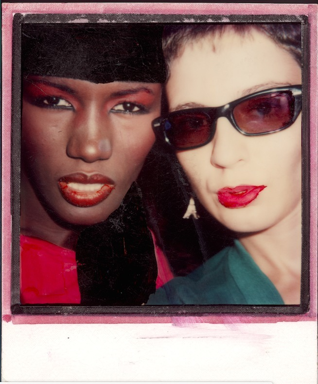 Selfie Polaroid with Grace