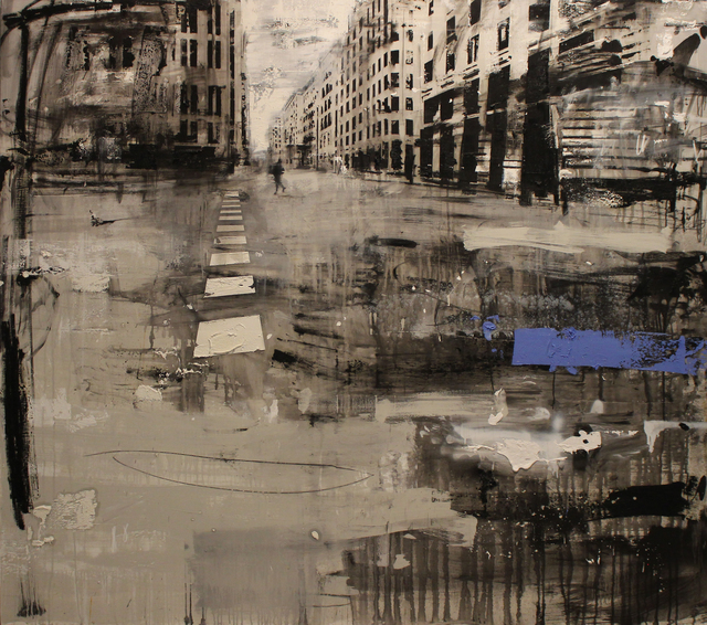 , 'Imbrattata di passi,' 2018, Galleria Punto Sull'Arte