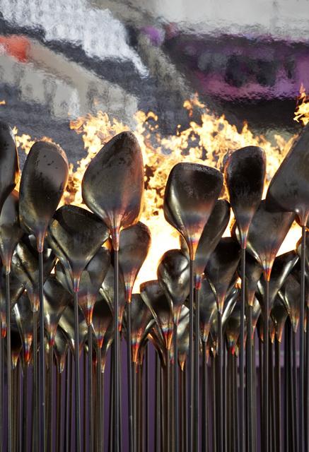 , 'Olympic Cauldron, London,' 2012, Hammer Museum