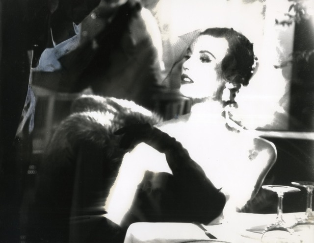, 'Black and White, Mary Jane Russell, Le Pavillon, New York, Harper's Bazaar, April 1950,' 1950, Edwynn Houk Gallery