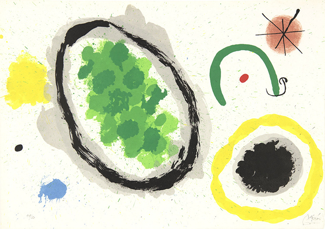 Joan Miró, 'Le Lezard Aux Plumes d'Or (The Lizard with Golden Feathers)', 1967, Masterworks Fine Art