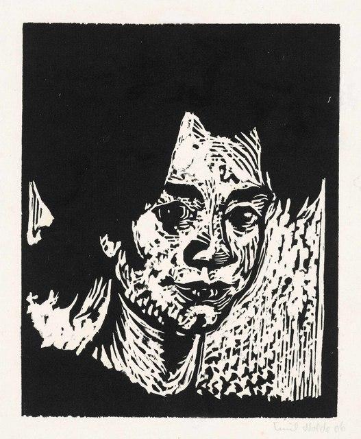 Emil Nolde, 'Stine', 1906, Print, Woodcut on laid Japan paper, Christie's