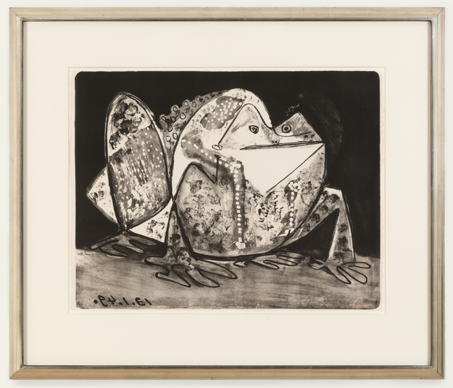 Pablo Picasso, 'La Crapaud', 1949, Print, Lithograph, Cristea Roberts Gallery