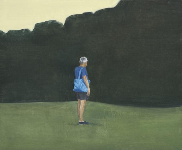, 'Blue Bag,' 2017, Hakgojae Gallery