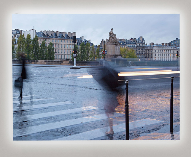 , 'Rainy Day in Paris II,' 2017, Bryce Wolkowitz Gallery