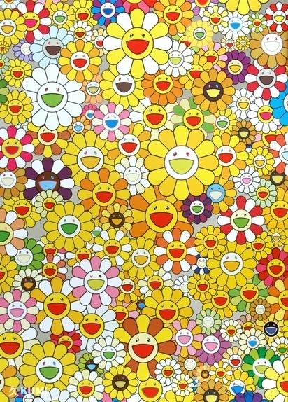 Takashi Murakami, 'An Homage to Monogold 1960 A', 2012, Lougher Contemporary