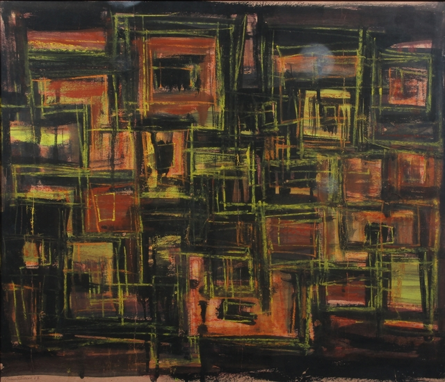 , 'Houses,' 1963, Aicon Gallery