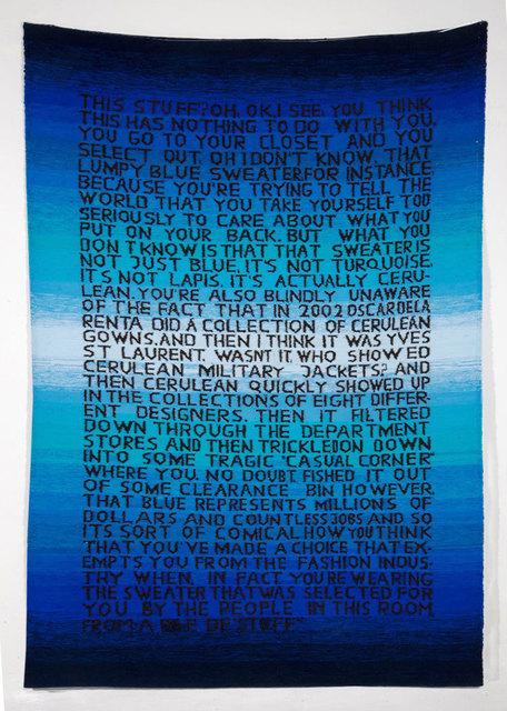 , 'Statement,' 2015, Isla Flotante