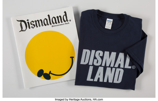 Banksy, 'Dismaland Bemusement Park (Booklet and T-shirt)', 2016, Heritage Auctions