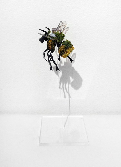 , 'Bombus + House,' 2013, May Space