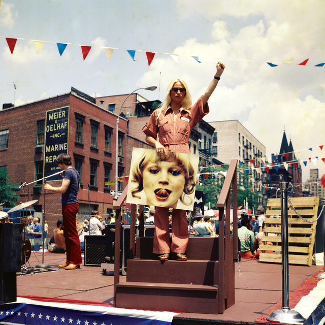 , 'Natalia LL at LGBT Demonstration in New York,' 1977, lokal_30