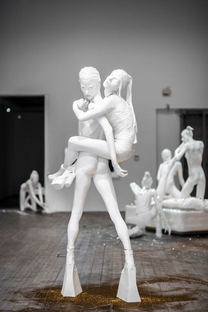 Cajsa von Zeipel, 'Blind-man's Bluff', 2014, Sculpture, Styrofoam, Fiberglass, Aqua Resin, Plaster, Andréhn-Schiptjenko