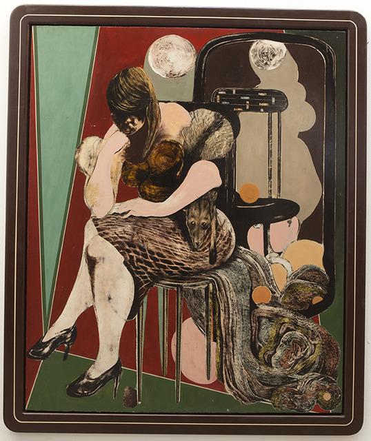 , 'untitled (Frau mit Fuchspelz),' 2016, galerie burster