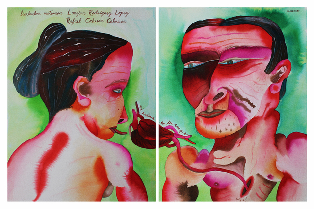 , 'Longina Rodriguez Lopez & Rafael Cabrera Cabrera - Maternal Great-Grandparents,' 2012, Cuban Contemporary