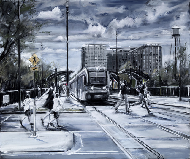, 'ARRIVING,' 2017, Jerald Melberg Gallery