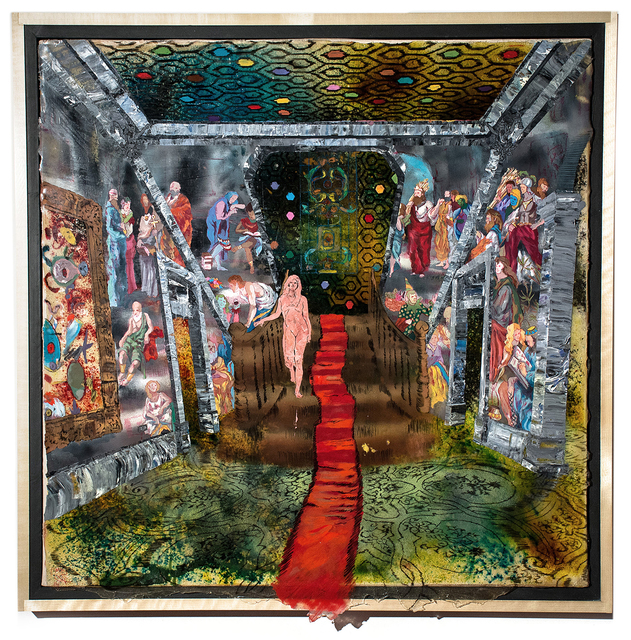 , 'Staircase,' 2015, Gallery Victor Armendariz