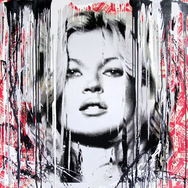 Mr. Brainwash, 'Kate Moss Fragile', Rush Philanthropic Arts Foundation Benefit Auction