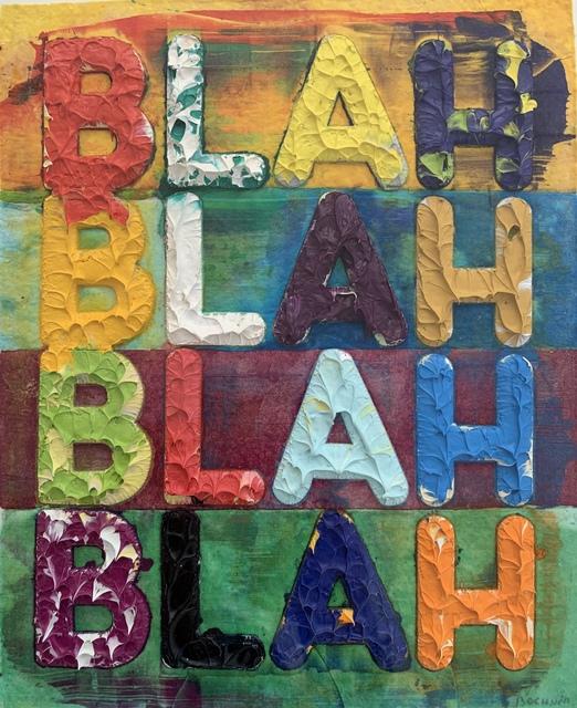Mel Bochner, 'Blah, Blah, Blah', 2012, Karsten Schubert