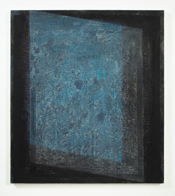 Jessica Dickinson, 'With: Not  ', 2019-2020, Painting, Oil on limestone polymer on panel, James Fuentes
