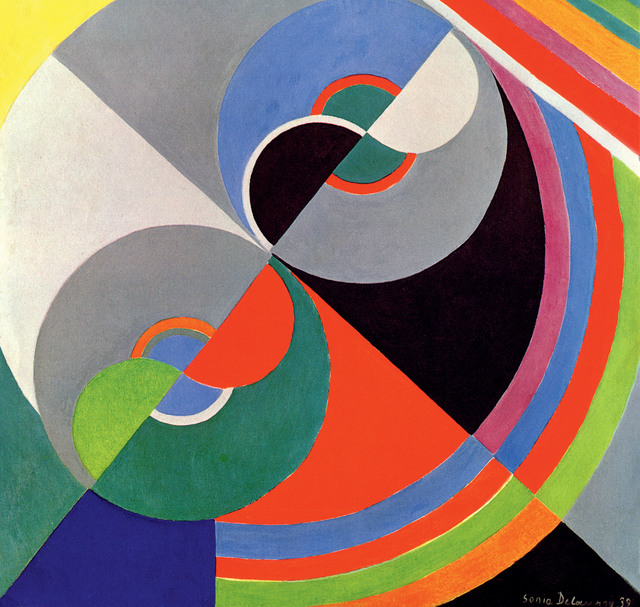 , 'Rhythm Colour no. 1076,' 1939, Tate Modern
