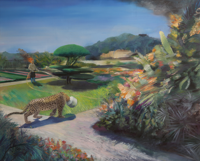 , 'Testament of Horse Abdomen – Leopard Runs Away And Falls Into The Trap,' 2016, Leo Gallery