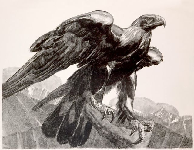 , 'Imperial Eagle,' 1929, Galerie Marcilhac
