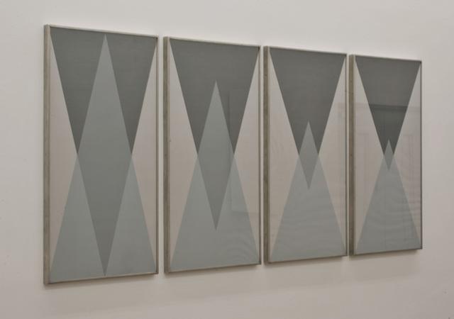 , 'Schichtgrafik,' 1994, Galerie Hubert Winter