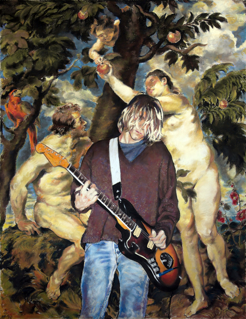 , 'Kurt, Adam & Eve (Come As You Are),' 2017, The Hole
