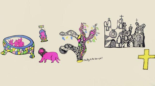 Niki de Saint Phalle, 'The Key to the Treasure', Roseberys