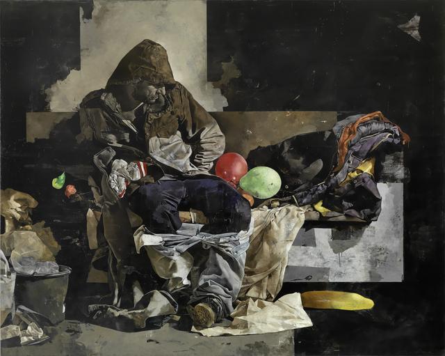 , 'Aufgeschoben 5,' 2015, Maerzgalerie