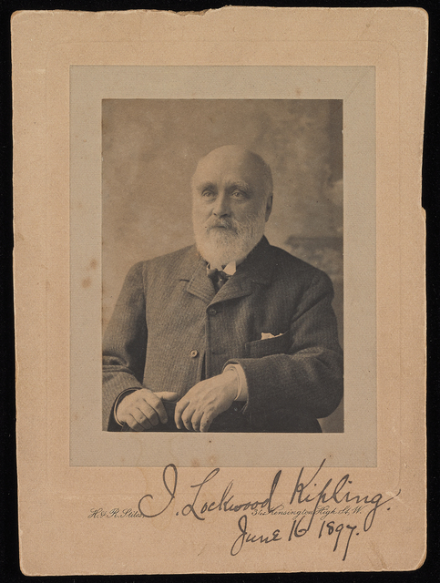 , 'John Lockwood Kipling,' ca. 1897, Bard Graduate Center Gallery