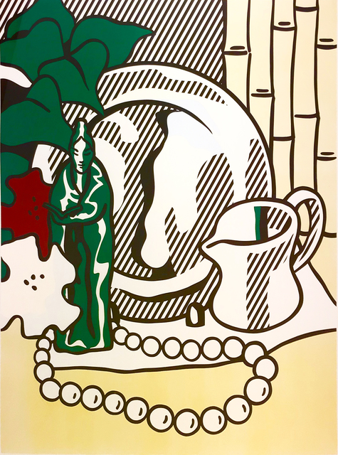 Roy Lichtenstein, 'Still Life with Figurine', 1974, Print, Lithograph and Screenprint on Rives BFK paper, Collectors Contemporary