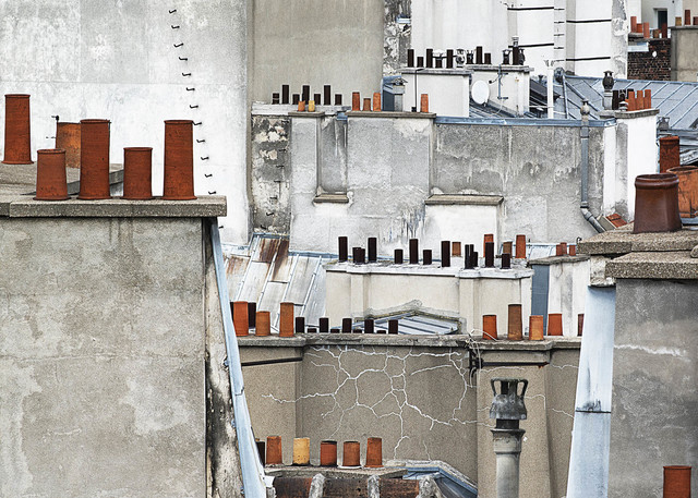 Michael Wolf (b. 1954), '# 11, Paris Rooftops', 2014, Photography, C-print, GALLERY FIFTY ONE