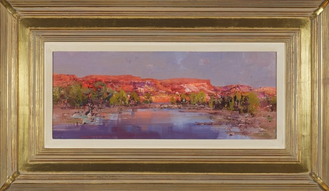 Ken Knight, 'The glow of evening - Fortescue River', 2013, Wentworth Galleries