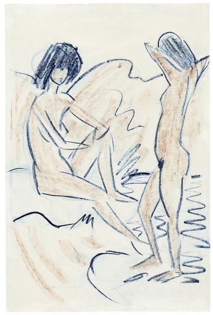 , 'Ein sitzender und ein stehender Akt,' , Ludorff