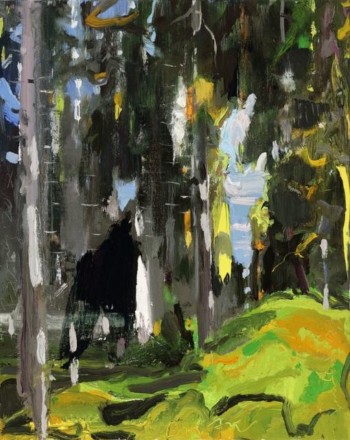 , 'Dickinson's Woods II,' 2018, DC Moore Gallery