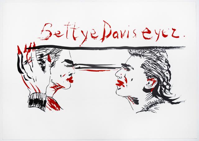 , 'Untitled (Betty Davis Eyez),' 2018, Brooke Alexander, Inc.
