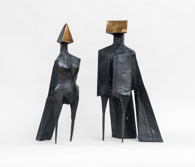 , 'Maquette V, Two Winged Figures,' 1973, Tanya Baxter Contemporary