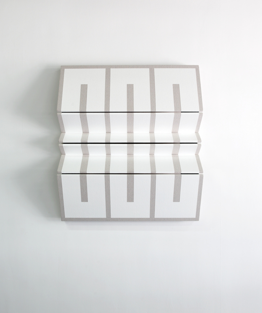 Robert William Moreland, 'Untitled Three White Rectangles ', 2019, Wilding Cran Gallery