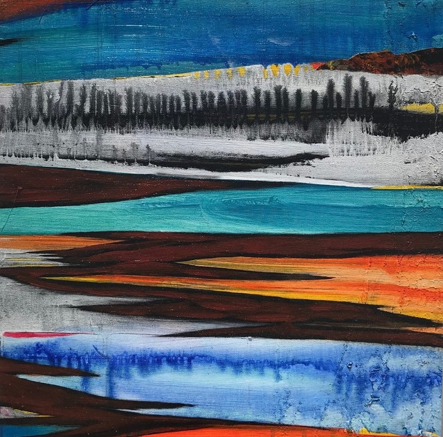Javier David Ramos, 'Estigia I', 2017, Painting, Acrylic on canvas, Biaggi & Faure Fine Art