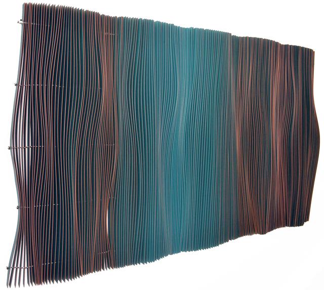 , 'Tangerine Undulatory (Ondulatorio Tangerine),' 2014, Canale Diaz Art Center