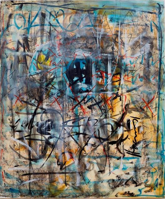 , '5 XXXXX,' 1989, Galerie Ernst Hilger