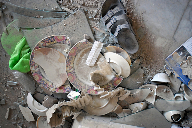 , 'Plates, Beirut,' 2006, C. Grimaldis Gallery