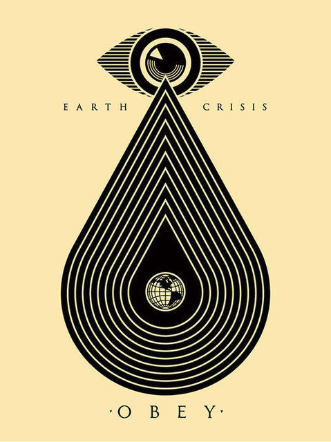 Shepard Fairey, 'Earth Crisis White', ca. 2017, AYNAC Gallery